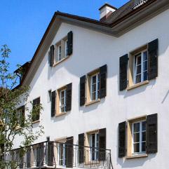 Gebäude des Weltklosters